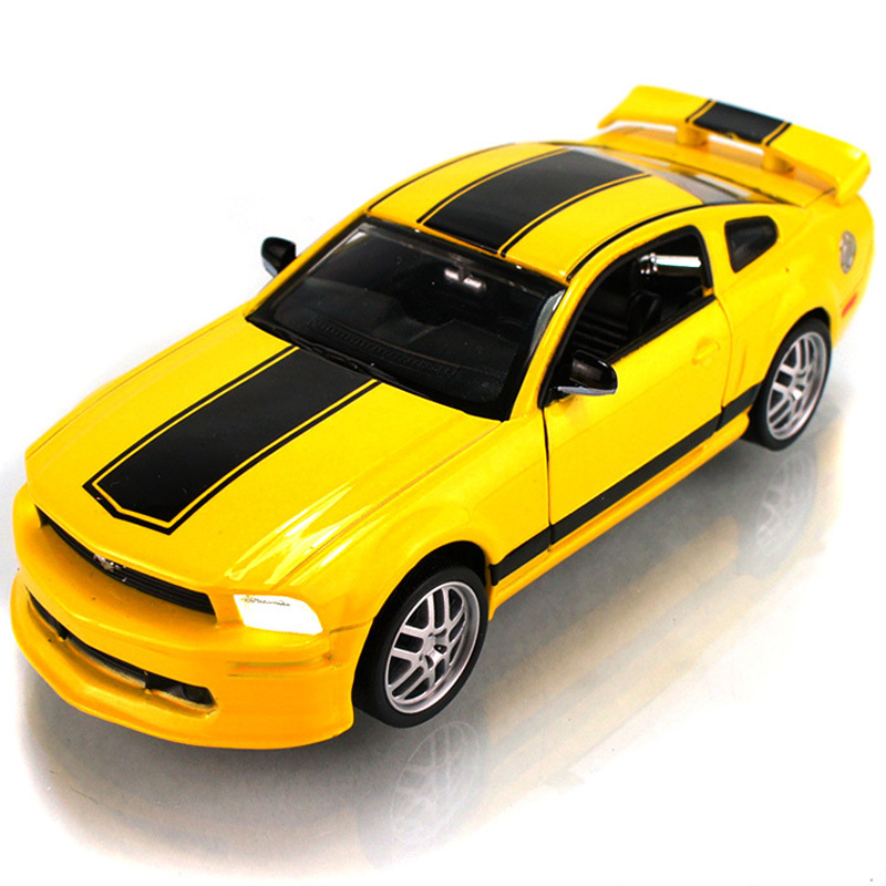 Ford ford mustang gt alloy car models acoustooptical toy box(China (Mainland))