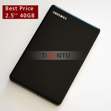 Portable 2.5'' HDD disk USB2.0 40GB External Hard Drive metal Best Price!!(China (Mainland))