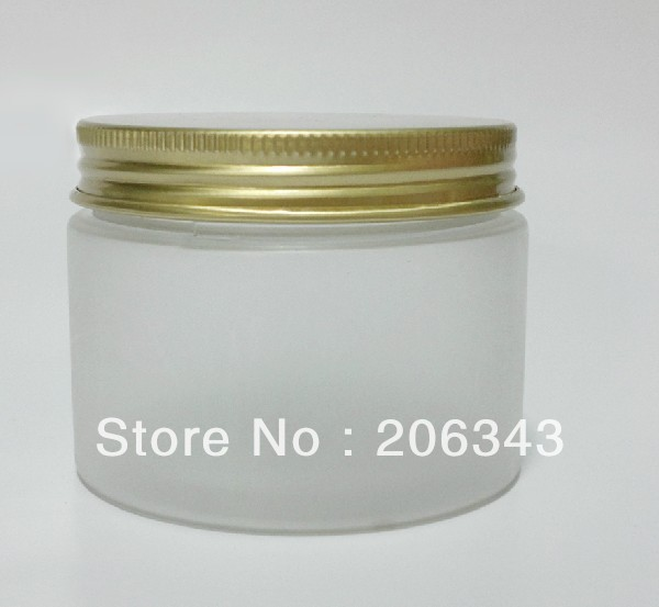 150G frosted PET cream bottle with golden cap<br><br>Aliexpress