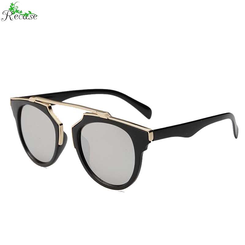 2016 Fashion Color Film Mirror Sunglasses Women Plastic & Alloy Frame PC Lens Cat Eye Adult Sunshade Eyewear SG-6(China (Mainland))