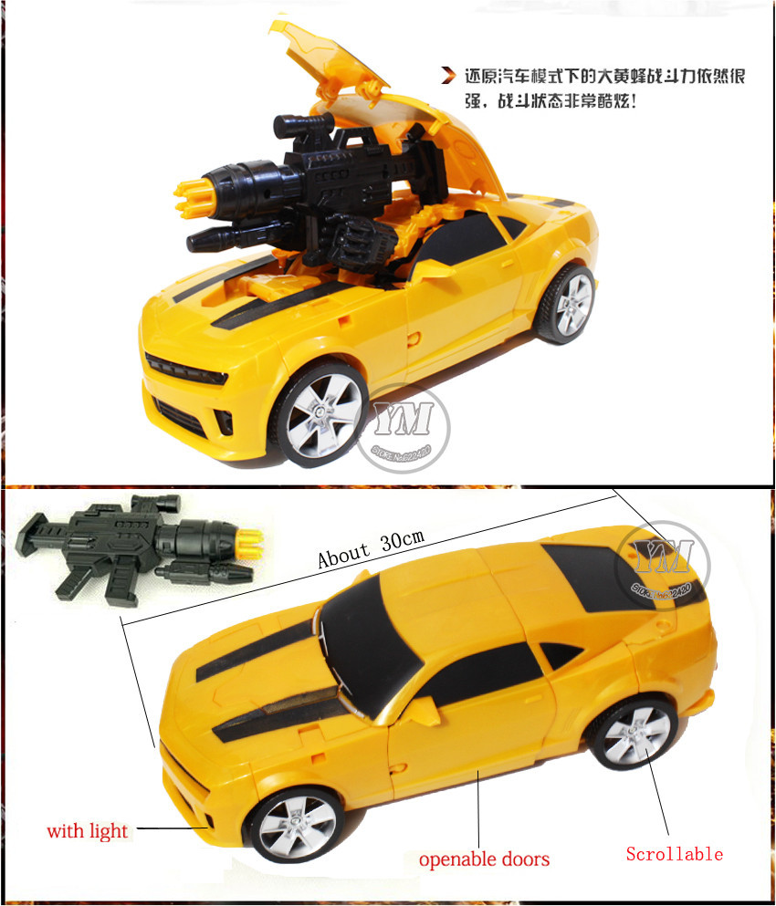 a8 Human Alliance Action Figure toys 42cm transformation-robot Bumblebee Robocar