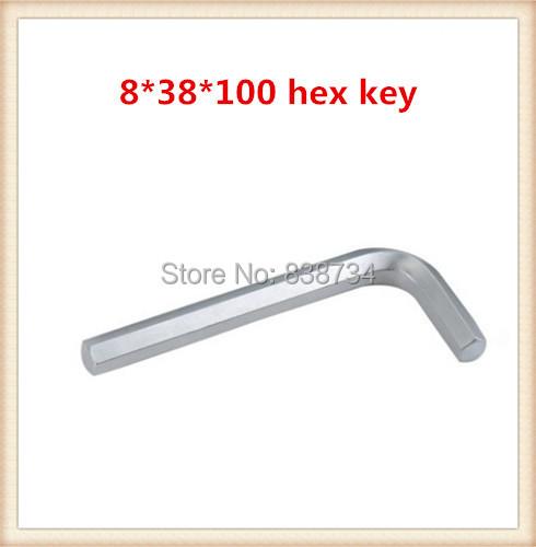 carbon steel nickel plated 8mm 100 hex allen key size 10pcs lot