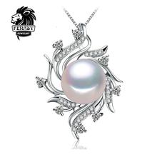Чешский Ожерелье Ювелирные Изделия Перлы ожерелья & подвески Перл марка ожерелье женщины Природный жемчуг ожерелье, FENASY(China (Mainland))