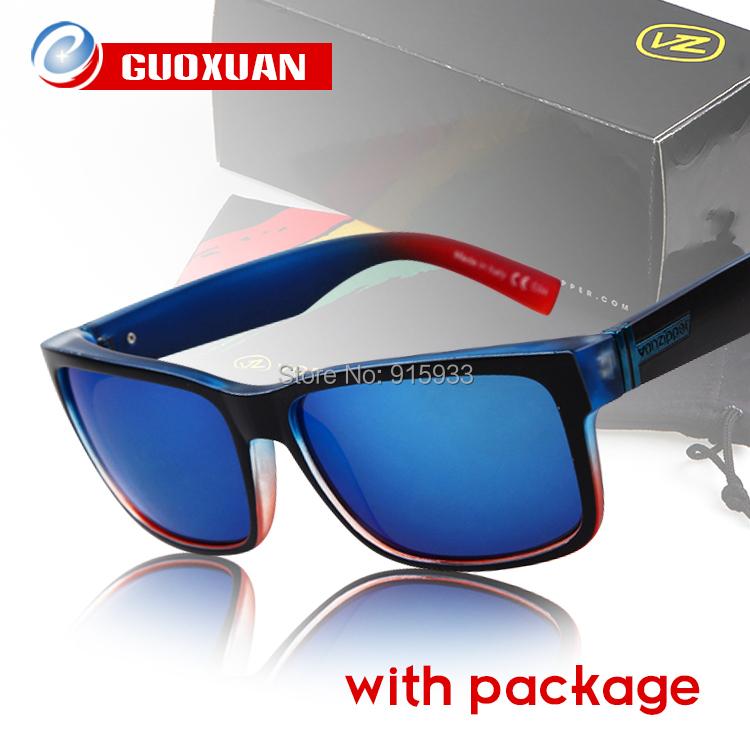 2015 Brand Men's Von Zipper Sunglasses Men Sport Cyling Glasses Vonzipper ELMORE oculos de sol masculino gafas with Original Box(China (Mainland))