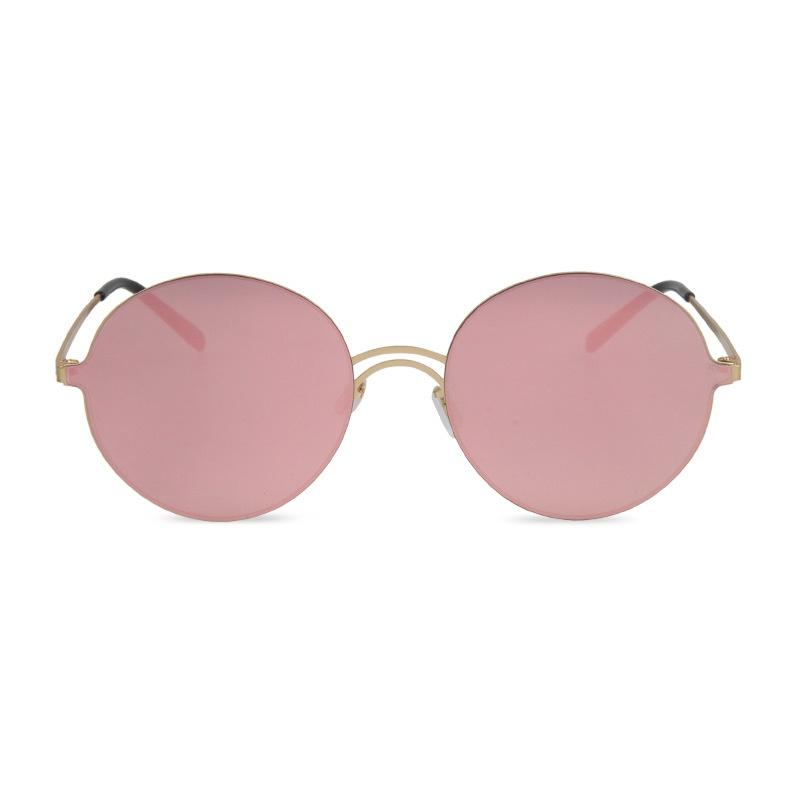 Contain Rose Gold!2016 New Retro Handsome Light High Quality Round Couple Sunglasses Women Men Eyewear glasses Multicolor UV400(China (Mainland))