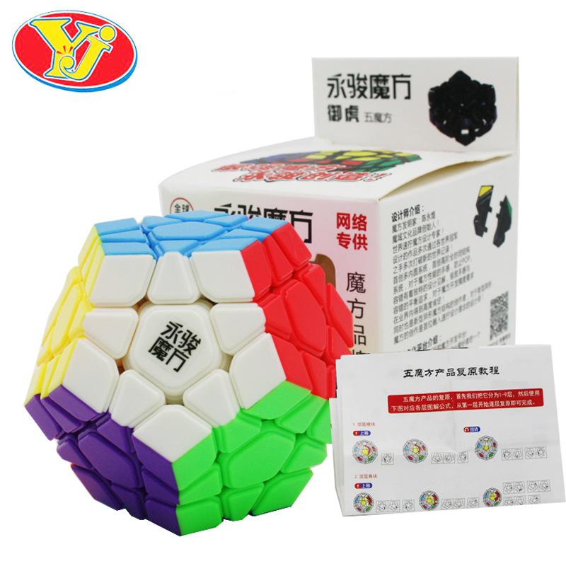 Yongjun cubo MoYu Yuhu Megaminx Magic Cube Professional cubo magico Puzzle Cubes Kids Toys Educational Toy(China (Mainland))