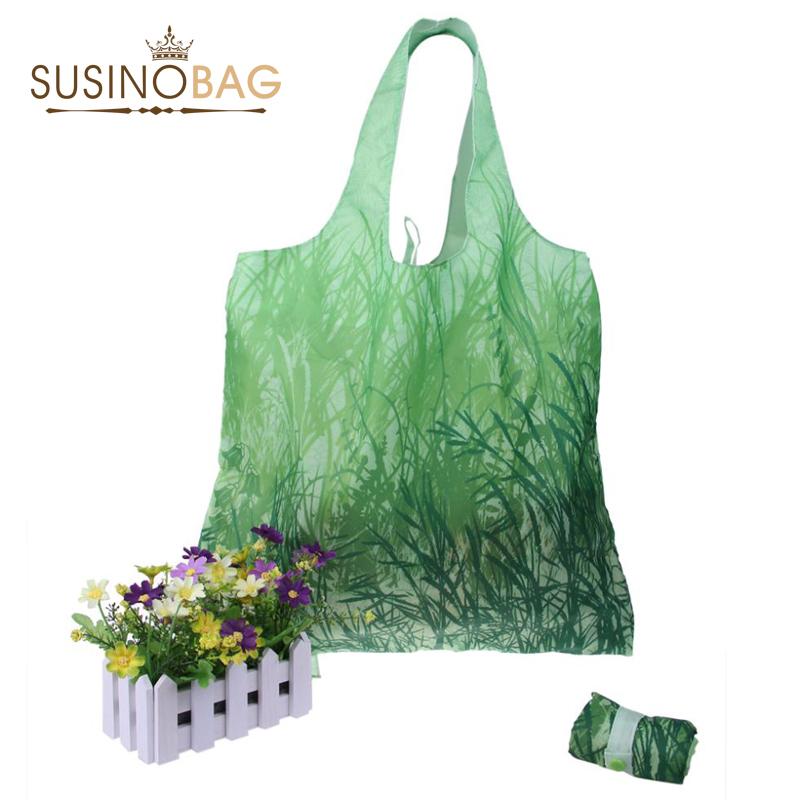 SUSINOBAG Tote Bag Green Wholesale shopping bag new design Fashion friendly fold bags Tote for shopper(China (Mainland))