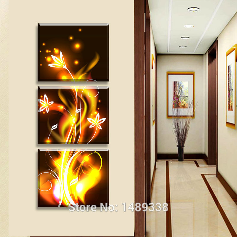 Http Www Aliexpress Com Item Free Shipping Canvas Paintings Living Room Canvas Painting Wall Modern Cheap Pictures Home Decor Golden Yellow 32566921163 Html