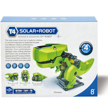 Hot DIY creative Environmental science series Quad / 4-in-1 Solar assembly robot educational toys game to interact with parents(China (Mainland))