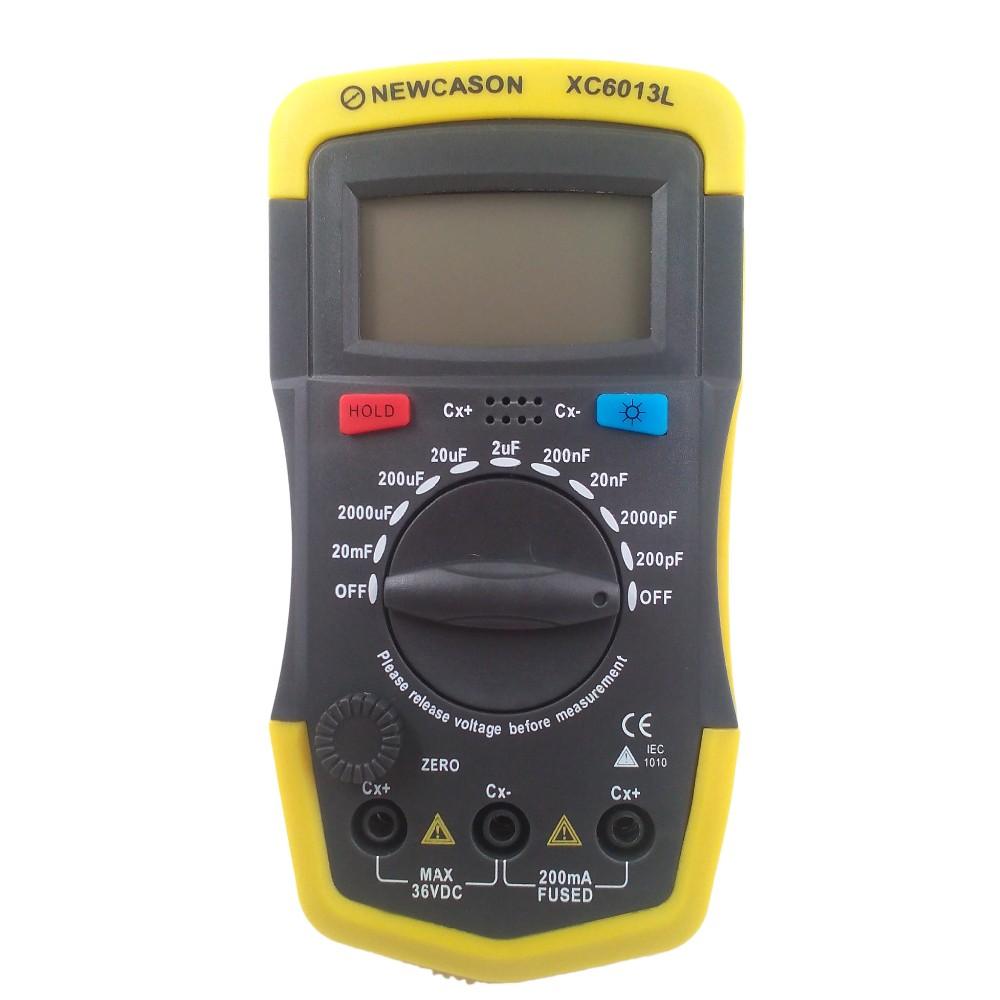 XC6013L 0.1pF-20000 uF Capacitance Tester Digital Capacitor Meter Measurement