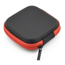 Hot Sales Earphone Headphone Bag High Quality Earbud Carrying Storage Bag Pouch Hard 5 Colors Case