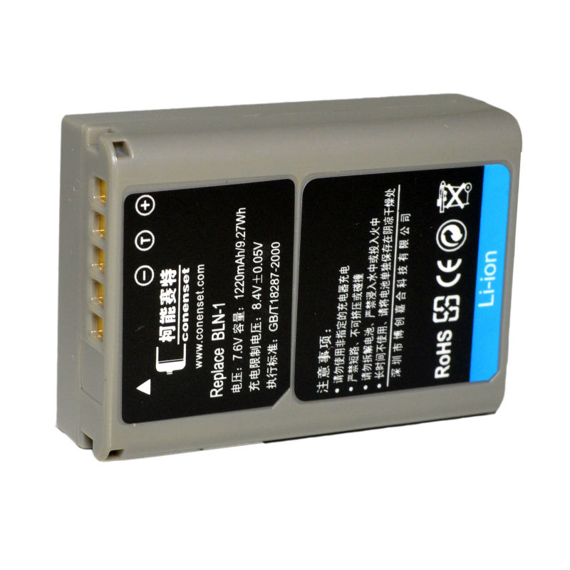 CONENSET BLN-1 BLN1 Li-ion Battery for Olympus E-M1 E-P5 EP5 E-M5II EM52 E-M5II 2 OM-D E-M5 Mark II digital camera