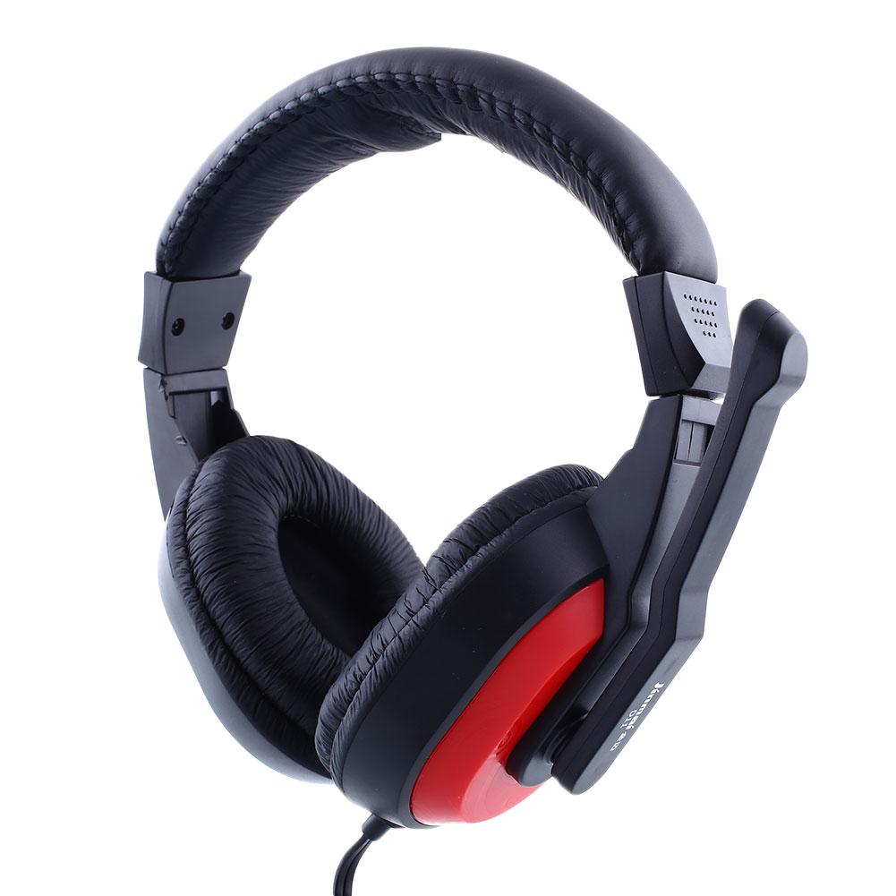 Skype Gaming Game Stereo Headphones Headset Earphone PC Computer Laptop 770 Black RED Gaming Headphones