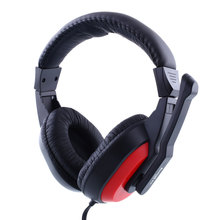 Skype Gaming Game Stereo Headphones Headset Earphone PC Computer Laptop 770 Black&RED Gaming Headphones