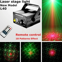 Buy Laser projector stage light 18 patterns led Club Party Bar DJ light Dance Disco party Stage Lights show system L40 for $58.80 in AliExpress store