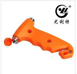 FREE SHIPPING car multi-function safety hammer,Broken window life-saving emergency hammer GJ008(China (Mainland))