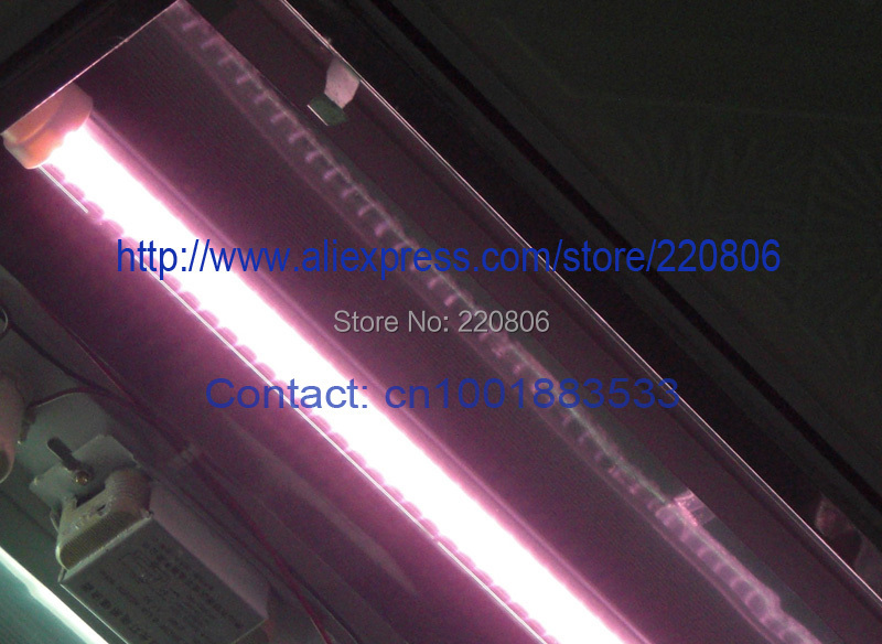 Free shipping wholesale 3ft 90cm 0.9m 900mm 14W pink color T8 led freezer tube led meat counter tube fresh food(China (Mainland))