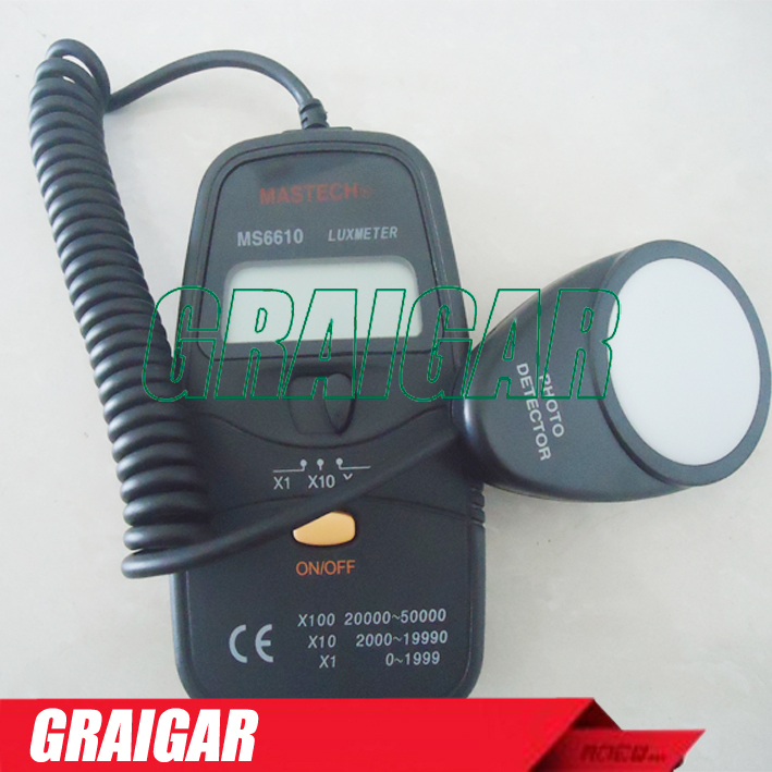 MASTECH MS6610 DIGITAL LUXMETER<br><br>Aliexpress