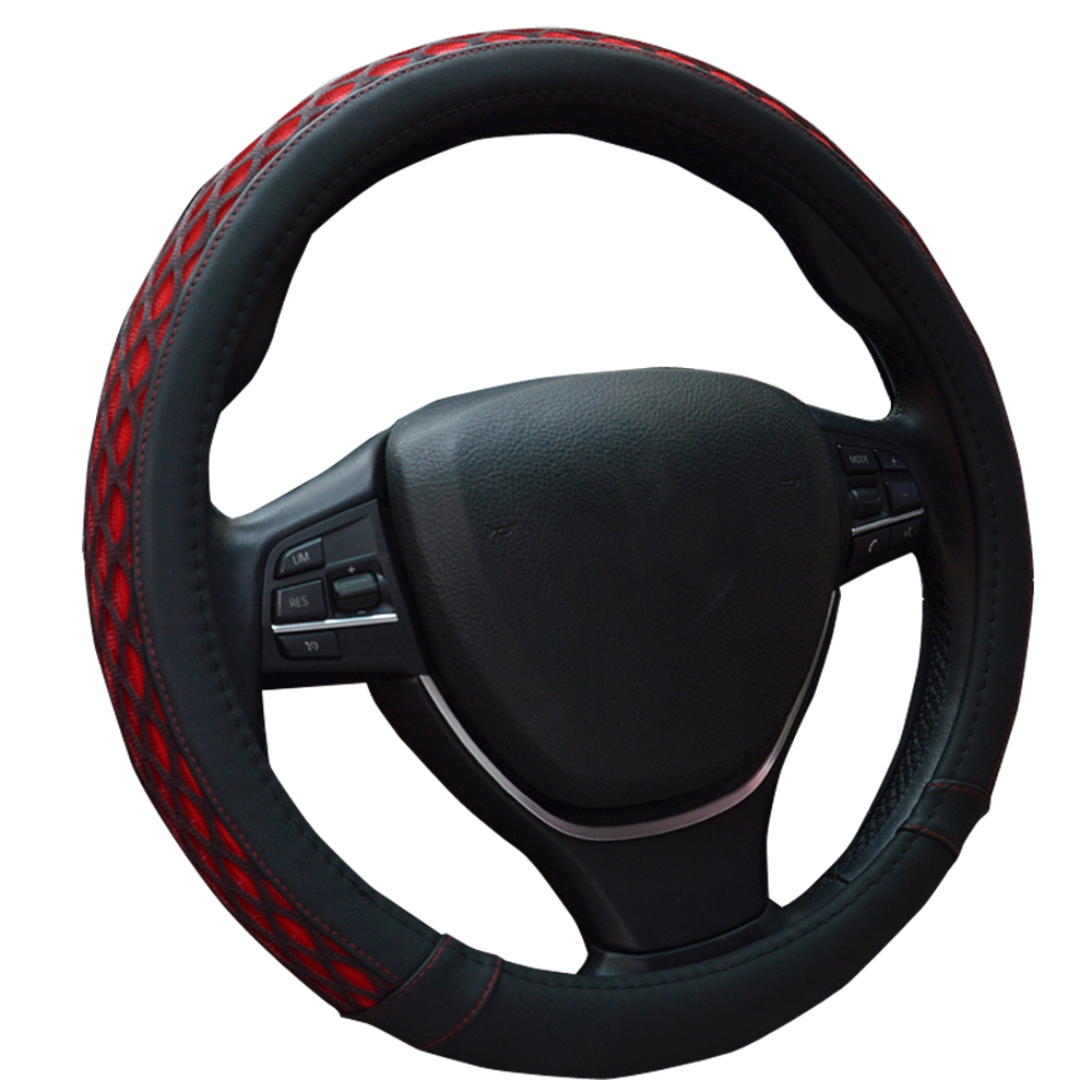 Ice silk Steering Wheel Cover Pu leather Wrap For Nissan 200SX 240SX 280ZX 300ZX 350Z 370Z Altima Armada Cube Frontier(China (Mainland))