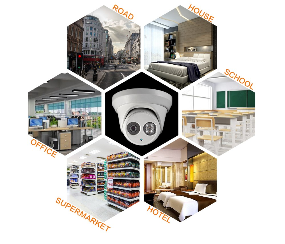 OEM DS-2CD2342WD-I(2.8mm) HIK English version 4MP IP camera Onvif P2P POE CCTV camera Network Camera security Camera HIKVISION