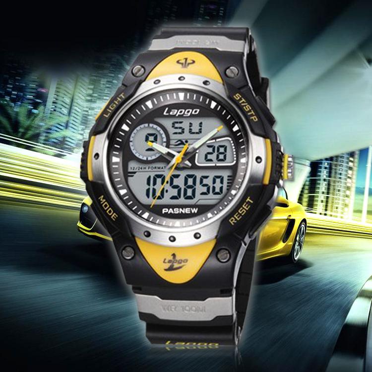 high quality digital boy wristwatches silicone