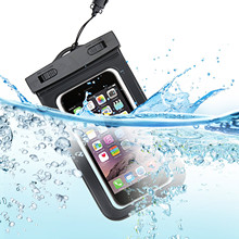 Universal Waterproof Phone Bag Case Floating Dry Bag Pouch for Outdoor Sports with IPX8 Certified for Devices Under 6 Inches(China (Mainland))