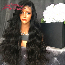 2016 7A Grade Unprocessed Virgin Brazilian Full Lace Human Hair Wigs Lace Front Wigs Glueless Full Lace Wig for Black Women(China (Mainland))