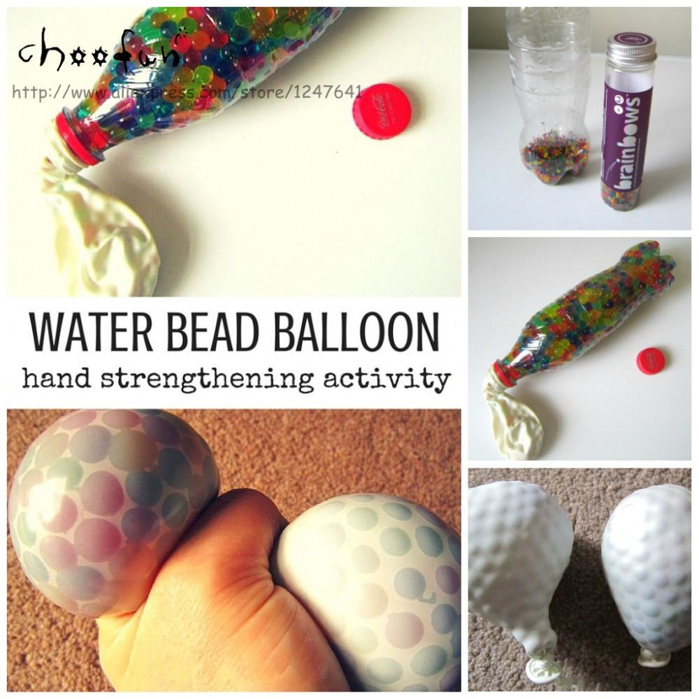 Buy new hot water beads balloon for for Water balloon christmas decorations
