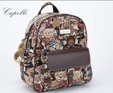 fashion designer high quality mochila school bags ladies backpacks for women's backpack printing backpacks for teenage girls(China (Mainland))