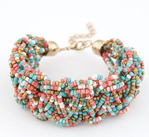 6 цветов женщина браслеты преувеличены цепь себе подвески браслет ювелирные изделия ...