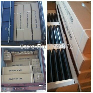 Solar collector Evacuated Tubes, Vacuum Glass Tube(QAL-58*1800)(China (Mainland))