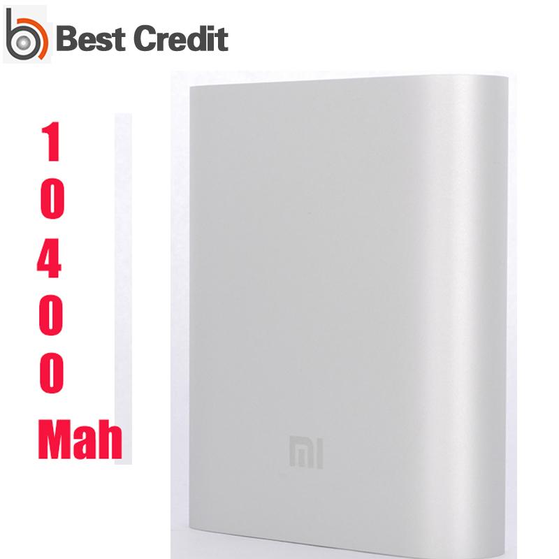original xiaomi power bank 10400mAh 10400 portable powerbank Charger hongmi iphone/Kate