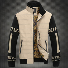 Men's Jacket 2015 Hot Sale Winter Jacket Mens Wadded Coat Outerwear Cotton-padded Youth Popular Clothes Quilted Jacket 087(China (Mainland))