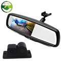 4 3 Car Mirror Monitor With Bracket Auto Video Parking Sensor with Rear View Camera For
