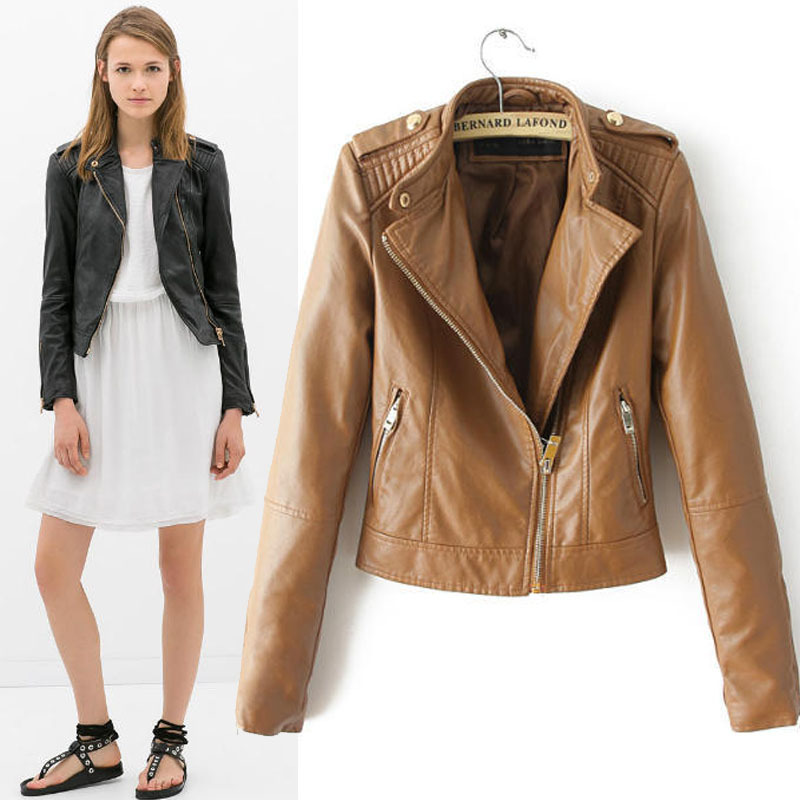 Leather Jacket Women Online - JacketIn