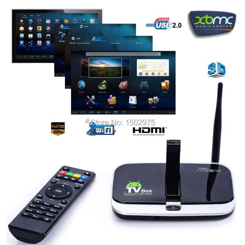 Телеприставка Xgody CS918S 4.4 XBMC 1080P HDMI Bluetooth UK CS918S(1G+8G)