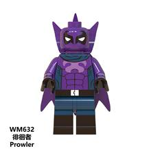 Mole figuras Marvel Figura de Ação de Super-heróis Homem-Aranha Noir Gwen Presunto Prowler Blocos de Construção de Brinquedos para as crianças Do Homem Aranha jm48(China)