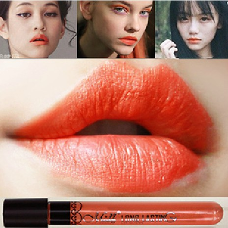 20pcs New Arrival Waterproof Milk Orange Color Lipstick matte smooth lipgloss 24 hours Long Lasting Lip Makeup<br><br>Aliexpress