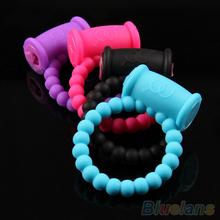 Men's Pleasure Ring Vibrating Rings Sex Toys Product 1L5O 2UDE(China (Mainland))