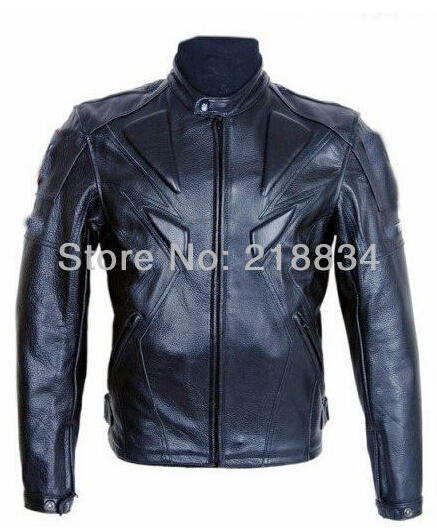 Hot sales Men PU jacket professional racing jacket motorcycle jacket motorcycle delivery 5 sets of protective