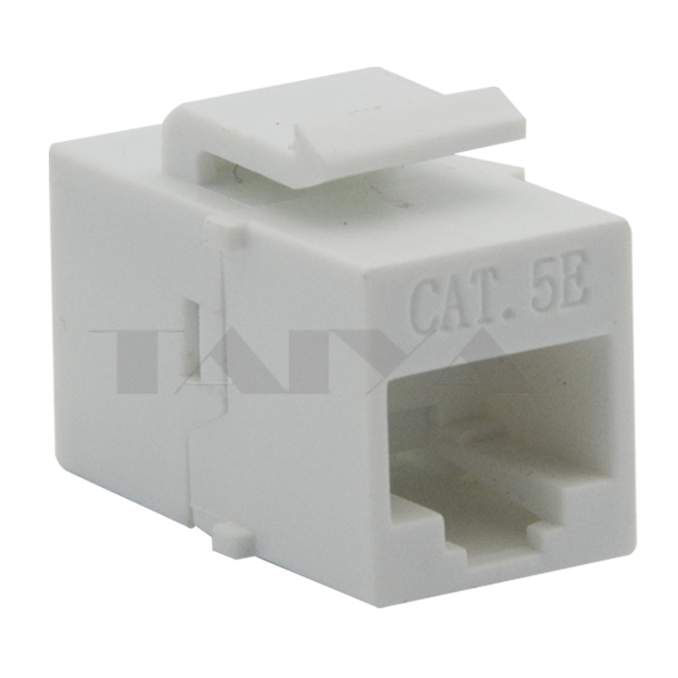 keystone CAT5E RJ45 with white color(China (Mainland))