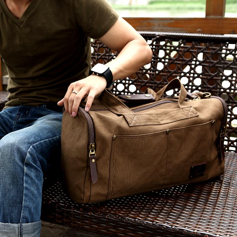 Здесь можно купить  Free shipping new arrival band casualcanvas bags men travel luggage,desinger mens travel duffle bag  tb handbag items TB17  Камера и Сумки