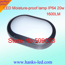Warm White/Cold White 4PCS/Lot  Outside Screwed Moisture-Proof 20W waterproof Ceiling Light(China (Mainland))