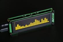 Buy OLED Music Audio Spectrum indicator Desktop MP3 PC Amplifier Speed Adjustable AGC Mode 15 level for $38.61 in AliExpress store