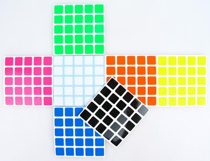 Shenshou 5x5x5 Magic Cube Sticker(China (Mainland))