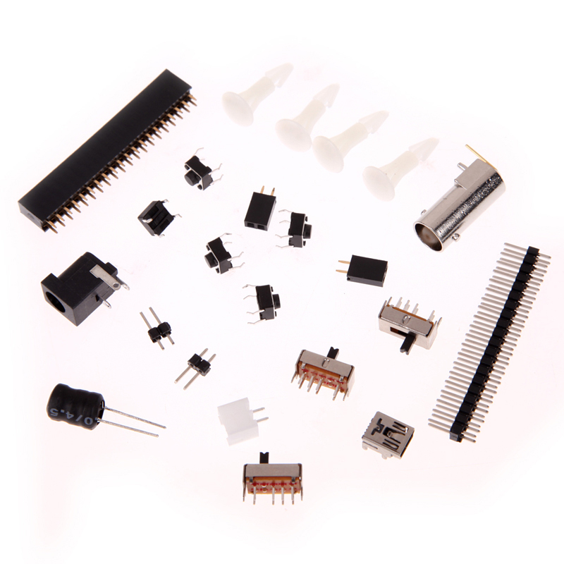 New Color Screen DSO138 Digital Oscilloscope DIY Kit Circuit Operation Tool E1Xc