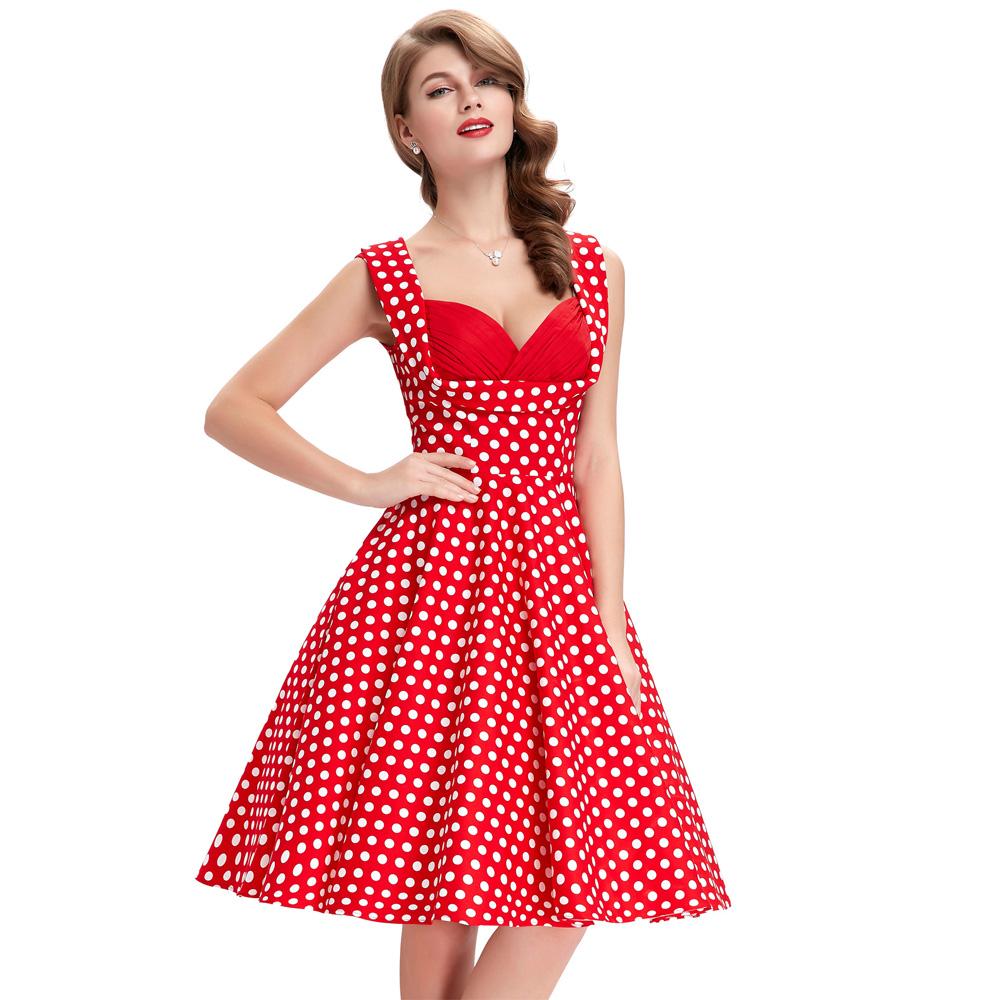 Aliexpress.com : Buy 50s Rockabilly Dresses 2016 Summer ...