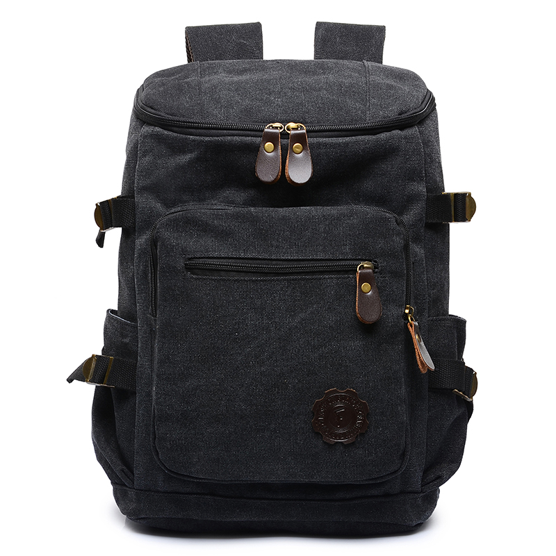 High quality canvas notebook laptop bag student school bag outdoor mountaineering bag 17inch bag suit for 14/15.6inch laptop(China (Mainland))