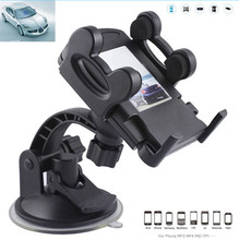 Car Phone Holder Windshield Mount Bracket Suction Cup Holder for Mobile Phone GPS MP4 Suporte Celular Carro Soporte Movil Car(China (Mainland))