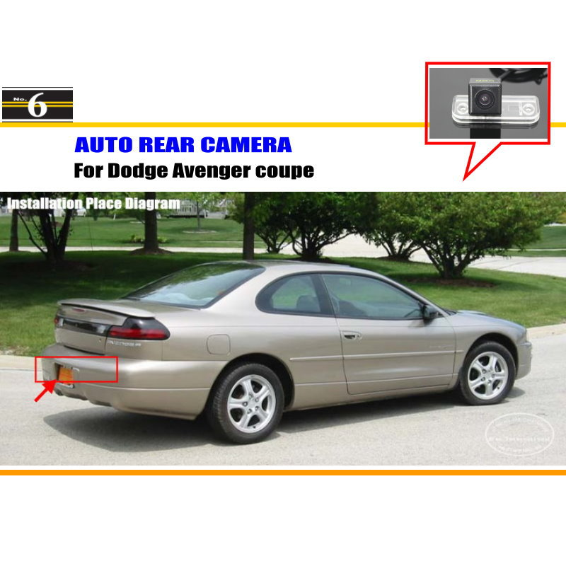 For Dodge Neon SRT-4 / Charger / Verna / Avenger coupe - Car Rear View Camera / Back Up Reverse Parking Camera / HD CCD Rearview(China (Mainland))